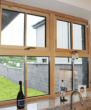 Aluminium Clad Timber Windows