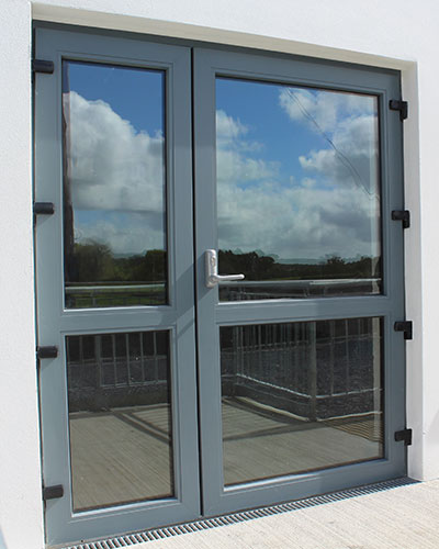 Thermally Efficient Aluminium Doors