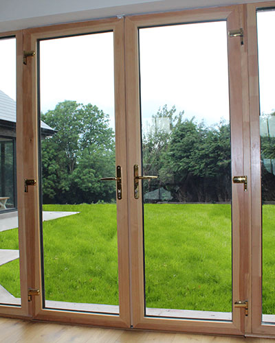 Aluminium Clad Timber Doors