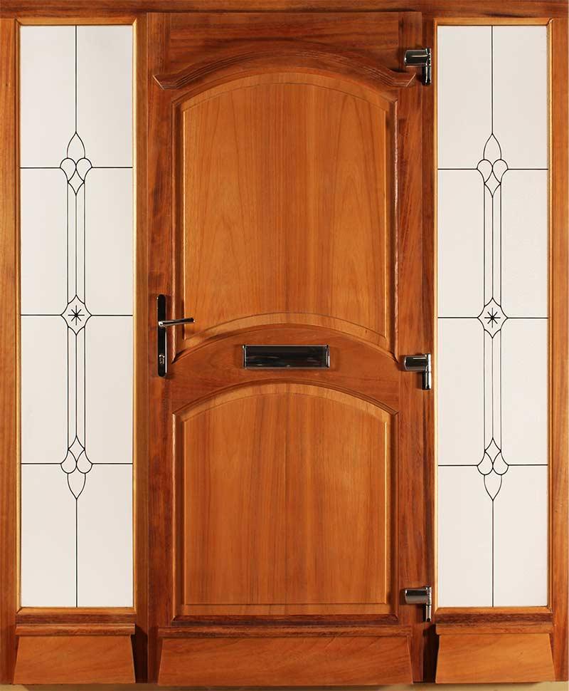 Ornate Teak Door & ornate-teak-door - Costello Windows
