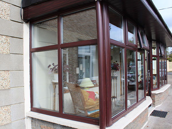 upvc window in rosewood