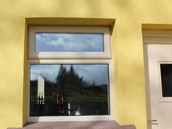 upvc window in light ream