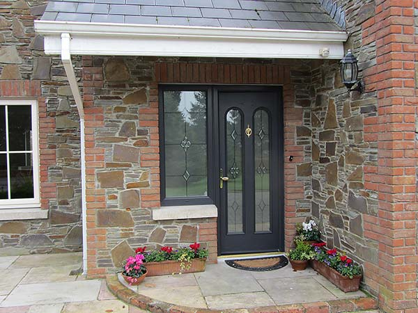 Grey palladio door