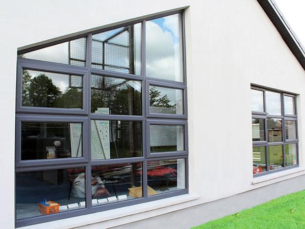 school upvc windows