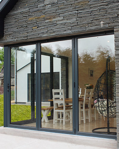 Thermally Efficient Aluminium Bi-Fold Doors