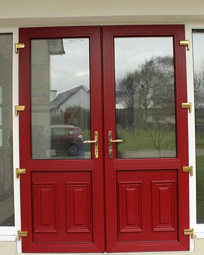 Thermally Efficient Aluminium Commercial Doors