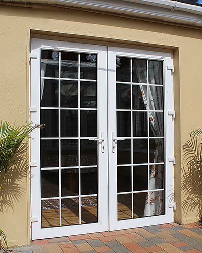 Thermally Efficient Aluminium Double Doors