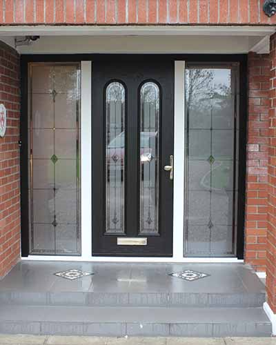 Thermally Efficient Aluminium Domestic Door