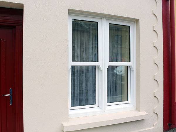 white townhouse window 12